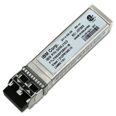 00MJ103 Lenovo 8Gb FC SW SFP Transceivers (Pair)