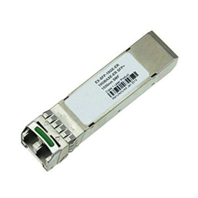 EX-SFP-10GE-ER SFP+ 10GBase-ER 10 Gigabit Ethernet Optics Module, 1550nm for 40Km Transmission