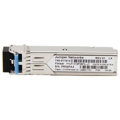 EX-SFP-1FE-LX SFP 100BASE-LX; LC connector; 1310nm; 10km Reach on Single Mode Fiber