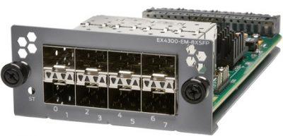 EX-UM-8X8SFP EX4300, 8-Port 10G SFP+/ 8-Port 1G SFP Uplink Module