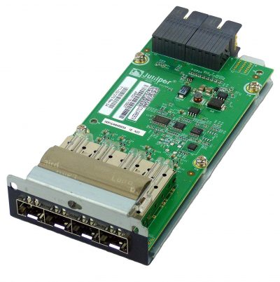 EX-UM-4SFP EX 4200 and EX 3200 4-Port 1G SFP Uplink Module (optics sold separately)