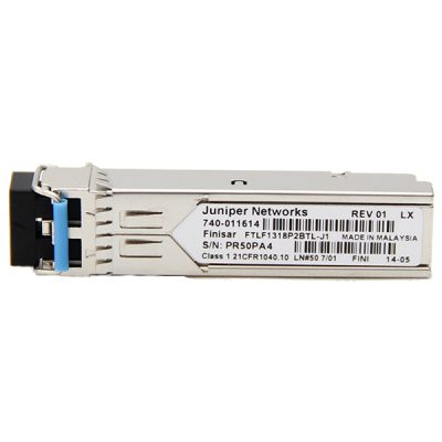 EX-SFP-1GE-LX40K SFP 1000Base-LX Gigabit Ethernet Optics, 1310 nm for 40 km transmission on single mode fiber