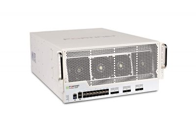 FG-3960E FortiGate 3960E w/ 6x 100GE QSFP28 slots and 16x 10GE SFP+ slots, 2 x GE RJ45 Management Ports, SPU NP6 and CP9 hardware accelerated, and 3 AC power supplies