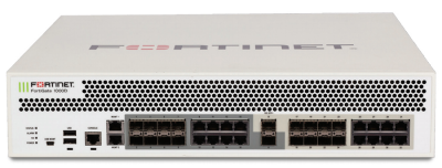 FG-1000D FortiGate 1000D w/ 2 x 10GE SFP+ slots, 16 x GE SFP Slots, 16 x GE RJ45 ports, 2 x GE RJ45 Management ports, SPU NP6 and CP8 hardware accelerated, 1 x 256GB SSD onboard storage, dual AC power supplies