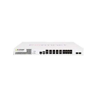 FG-600D FortiGate 600D w/ 2 x 10GE SFP+ slots, 8 x GE RJ45 ports, 8 x GE SFP slots, SPU NP6 and CP8 hardware accelerated, 120GB onboard SSD storage