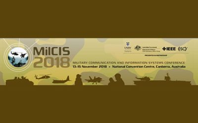 Visit us at MilCIS 2018