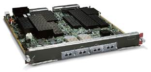 WS-X6704-10GE (Refurb) Cisco Catalyst 6500 4-Port 10 Gigabit Ethernet Module, requires XENPAK