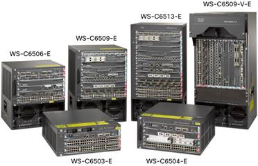 WS-6500-E Catalyst 6500 Series Switches