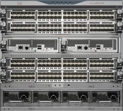 MDS-9706 EMC Connectrix MDS-9706 4-slot director-class switch