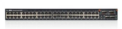 8164 Dell PowerConnect 8164 with 48 auto-sensing GbE switching ports + dual QSFP+ 40GbE ports