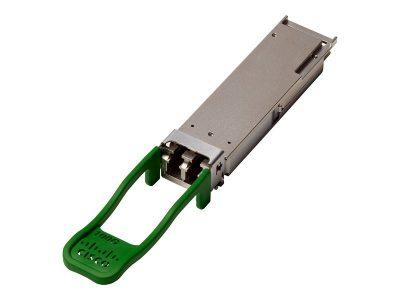 QSFP-100G-CWDM4-S Cisco 100GBASE CWDM4 QSFP Transceiver, LC, 2km over SMF