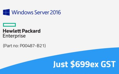 Upgrade your HPE Hardware to Windows Server 2016 for just $699ex GST as 2008 Goes End of Support