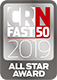 Touchpoint's IT hardware supply services scored them a place in the CRN Fast 50 and an All Star Award in 2019