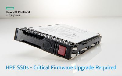 HPE SSDs – Critical Firmware Upgrade Required