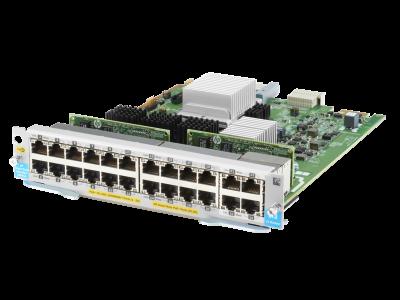 J9991A Aruba 20-port 10/100/1000BASE-T PoE+ / 4-port 1/2.5/5/GBASE-T PoE+ MACsec v3 zl2 Module