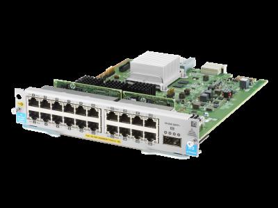 J9992A Aruba 20-port 10/100/1000BASE-T PoE+ MACsec / 1-port 40GbE QSFP+ v3 zl2 Module