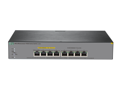 JL383A HPE 1920S 8G PPoE+ 65W Switch, Partial PoE 1-4 Ports, Layer 3, Web-Managed, Limited Lifetime Warranty