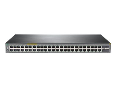 JL386A HPE 1920S 48G 4SFP PPoE+ 370W Switch, Partial PoE 1-24 Ports, Layer 3, Web-Managed, Limited Lifetime Warranty