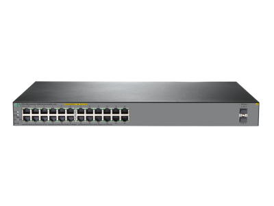 JL385A HPE 1920S 24G 2SFP PoE+ 370W Switch, 24 x GIG PoE+, 2 x SFP Ports, Layer 3, Web-Managed, Limited Lifetime Warranty