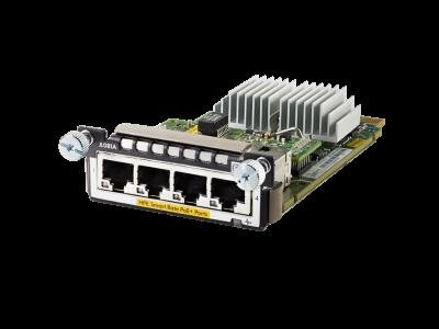 JL081A Aruba 3810M/2930M 4 HPE Smart Rate PoE+ Module