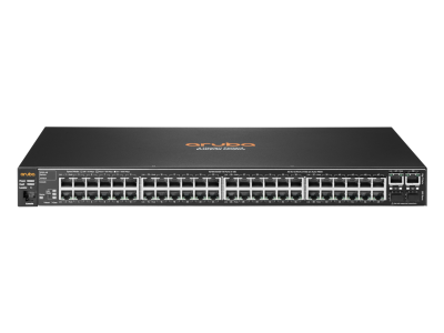 J9781A Aruba 2530 48 Switch, Layer 2, 48 x 10/100 + 4 x SFP Ports, Managed, Limited Lifetime Warranty