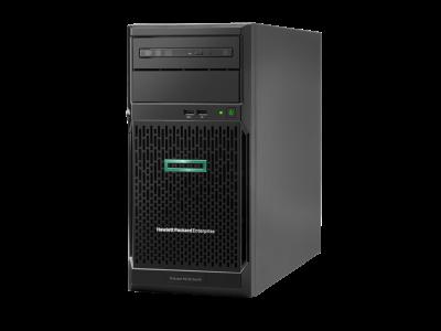 P06785-375 HPE ML30 Gen10 E-2124(1/1), 16GB(1/4), SATA-LFF-3.5(0/4), S100i, No CD, Tower, 1-year Warranty