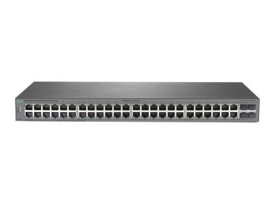 J9981A HPE 1820 48G Switch, 48 x GIG Ports + 4 x SFP Ports, Layer 2, Web-Managed, Limited Lifetime Warranty