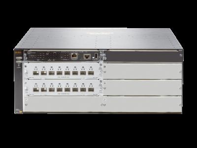 JL095A Aruba 5406R 16 SFP+ v3 zl2 Switch Includes 2 x 10GbE SFP v3 zl2 Modules, Managed, Limited Lifetime Warranty, No Power Supply Unit