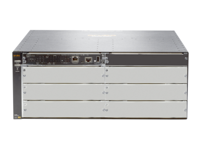 J9821A Aruba 5406R zl2 Switch Chassis, Layer 3, 6 Open zl Slots, 2 Open Power Supply Unit Slots, Managed, Limited Lifetime Warranty