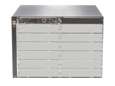 J9822A Aruba 5412R zl2 Switch Chassis, L3, 12 Open zl Slots, 4 Open Power Supply Unit Slot, Managed, Limited Lifetime Warranty