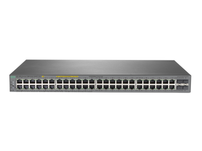 J9984A HPE 1820 48G PPoE+ (370W) Switch, 24 x GIG + 24 x GIG PoE+ & 4 x SFP Ports, Layer 2, Web-Managed, Limited Lifetime Warranty