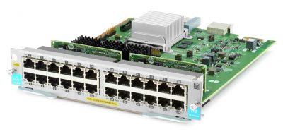 J9986A Aruba 24-port 10/100/1000BASE-T PoE+ MACsec v3 zl2 Module