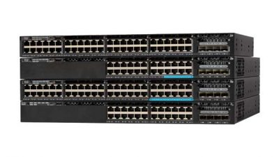 WS-C3650-12X48FD-L Cisco Catalyst 3650 Switch, 48 (36 x 10/100/1000 and 12 x 100Mbps/1/2.5/5/10 Gbps) Ethernet and 2 x 10G Uplink Ports, 1100WAC Power Supply, 1 RU, LAN Base Feature Set