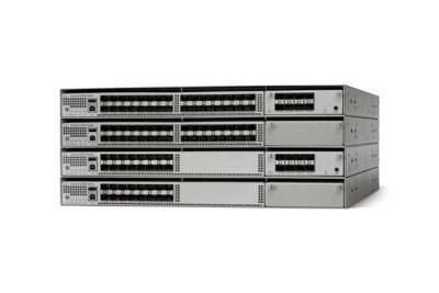 WS-C4500X-24X-ES Cisco Catalyst 4500-X Switch, 24 Port 10GE Enterprise Services, Front-to-Back Cooling, No Power Supply