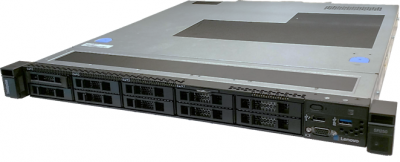 7Y51A00TAU Lenovo ThinkSystem SR250, 1 x Intel Xeon E-2144G 4+2C 71W 3.6GHz, 1 x 16GB, 1 x 450W HS, 3-Year Warranty