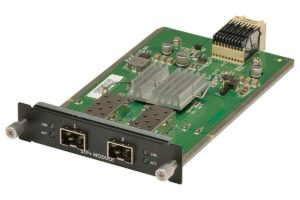 407-BBOC Dell SFP+ 10GbE Module for N3000/S3100 Series, 2 x SFP+ Ports (Optics or Direct Attach Cable Required)