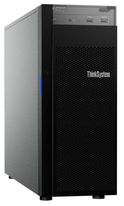 7Y45A01PAU Lenovo ThinkSystem ST250, 1 x Intel Xeon E-2144G 4+2C 71W 3.6GHz, 1 x 8GB, 1 x 550W HS, 3-Year Warranty