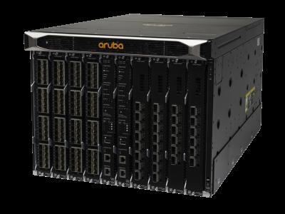 JL376A Aruba 8400, 1 x Mgmt Mod, 3 x PS, 2 x 8400X Fabric Mod, 1 x 32p 10G Mod and 1 x 8p 40G Mod Bundle