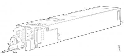 JPSU-1600W-1UACAFI Juniper Networks QFX5220-32CD-AFI 1U AC Power Supply Unit