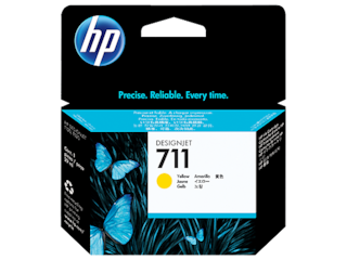 CZ132A HP 711 29ml Yellow Ink Cartridge
