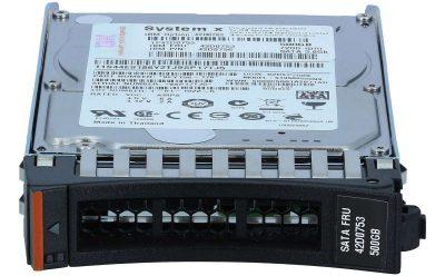 "42D0752 IBM 500GB 7200 NL SATA 2.5"" SFF SLIM-HS HDD"