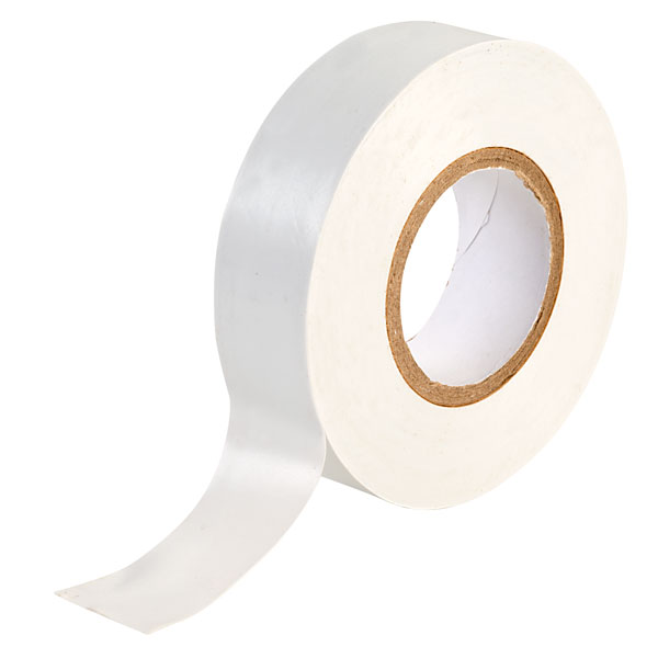 10 Pack White Electrical Insulation Tape