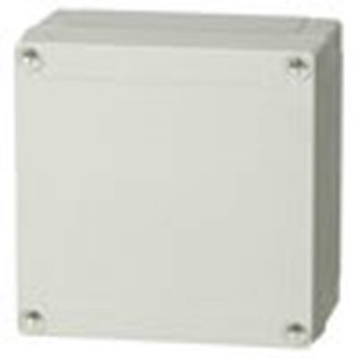 7042760 UL Enclosure, PC - Base with screws for mounting plate/DIN-rail, cover with PUR gasket and stainless steel cover screws.