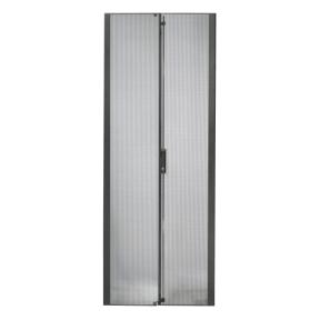 AR7100 NetShelter SX 42U 600mm Wide Perforated Split Doors Black