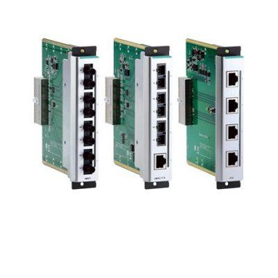 CM-600-4TX MOXA Layer 2 Managed Switch Interface Module CM-600-4TX