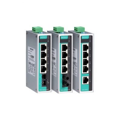 EDS-205A-S-SC MOXA Unmanaged Ethernet Switch EDS-205A-S-SC