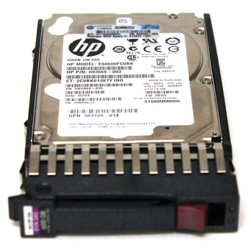 ST9600205SS Seagate 600GB 10K RPM 6G SAS HDD