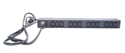 AP9565 BASIC RACK PDU, 1U, 16A, 230V
