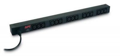 AP9568 APC BASIC VERTICAL PDU, 240V, 10A, 2.3KW, C13(15), IEC-320, 2YR