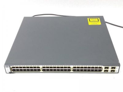 WS-C3750-48TS-S CISCO Catalyst 3750 48 10/100 + 4 SFP + IPB Image